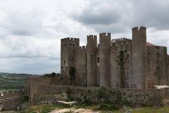 Castello DE Obidos Stock Foto's