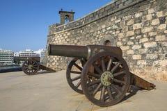 Castello de SAN Gabriel Arrecife σε Lanzarote Στοκ φωτογραφίες με δικαίωμα ελεύθερης χρήσης