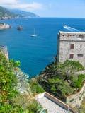 Castello dei Fieschi Monterosso Obrazy Royalty Free