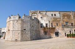 Castello del Acquaviva dell'Aragona. Conversano. La Puglia. L'Italia. Fotografie Stock