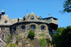 Castello del bastione di Altena, Germania Immagini Stock Libere da Diritti