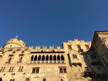 Castello del Buonconsiglio,特伦托,意大利 免版税图库摄影