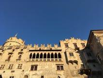Castello del Buonconsiglio, Trento, Italië Royalty-vrije Stock Fotografie