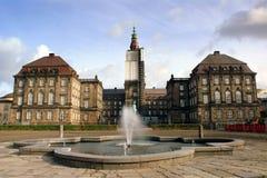 castello del christiansborg fotografie stock