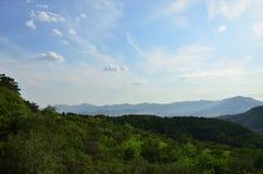 Castello del cielo di Bule Fotografia Stock