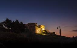 Castello del crociato Fotografie Stock