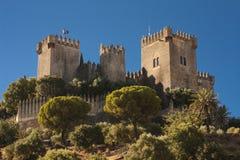 Castello del del Rio di Almodovar Immagine Stock Libera da Diritti