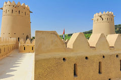 Castello del deserto Fotografia Stock