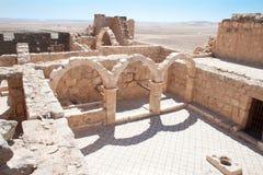 Castello del deserto di Hallabat di Al di Qasr Fotografia Stock Libera da Diritti