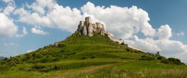 Castello del ¡ di SpiÅ - ské Podhradie del ¡ di SpiÅ Fotografie Stock