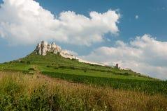 Castello del ¡ di SpiÅ - ské Podhradie del ¡ di SpiÅ Fotografia Stock Libera da Diritti