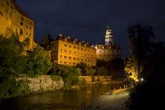 Castello del fiume Immagini Stock