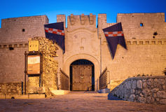 Castello del Gargano. In Monte Sant'Angelo (south Italy Stock Images