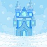 Castello del ghiaccio Immagini Stock Libere da Diritti