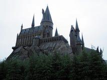 Castello del Harry Potter fotografia stock libera da diritti