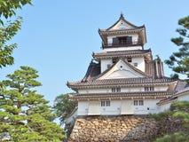 Castello del Kochi nella prefettura di Kochi, Giappone Immagine Stock Libera da Diritti