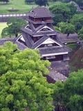 Castello del Kumamoto nel Giappone Fotografia Stock