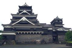 Castello del Kumamoto nel Giappone Fotografia Stock Libera da Diritti