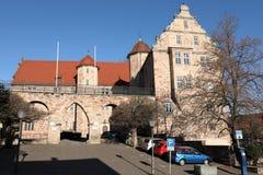 Castello del Landgrave di Eschwege immagini stock libere da diritti