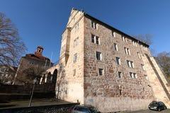 Castello del Landgrave di Eschwege fotografie stock