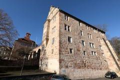 Castello del Landgrave di Eschwege fotografie stock libere da diritti