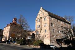 Castello del Landgrave di Eschwege fotografia stock