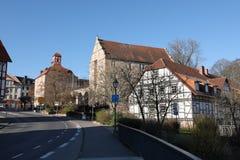 Castello del Landgrave di Eschwege immagine stock libera da diritti