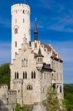 Castello del Lichtenstein Fotografie Stock