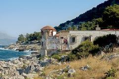 Castello del litorale Fotografie Stock