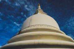 Castello del locale dello Sri Lanka Fotografia Stock Libera da Diritti
