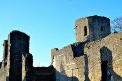 castello del ludlow in Inghilterra immagini stock