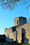 castello del ludlow in Inghilterra immagine stock libera da diritti