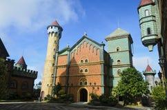 Castello del mondo di fantasia Immagine Stock