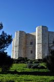 Castello del Monte in Puglia Royalty Free Stock Photography