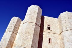 Castello del Monte in Puglia Royalty Free Stock Photo