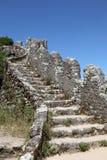 Castello del Moorish, Sintra Portogallo Fotografia Stock