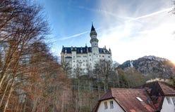 Castello del Neuschwanstein. Fotografie Stock