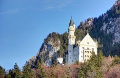 Castello del Neuschwanstein. Fotografia Stock