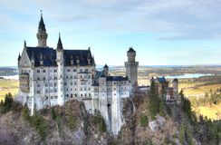 Castello del Neuschwanstein Fotografie Stock