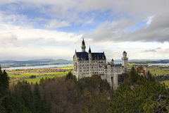 Castello del Neuschwanstein Immagine Stock Libera da Diritti