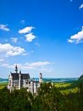 Castello del Neuschwanstein in Baviera, Germania immagini stock libere da diritti