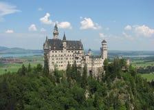 Castello del Neuschwanstein, Fussen, Baviera, Germania fotografie stock libere da diritti