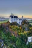 Castello del Neuschwanstein vicino a Monaco di Baviera Immagine Stock