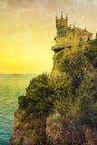 Castello del nido dello Swallow Immagine Stock