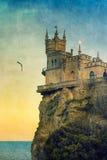 Castello del nido dello Swallow Fotografia Stock Libera da Diritti