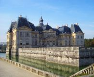 Castello del palazzo del Lussemburgo - città di Parigi Immagini Stock Libere da Diritti