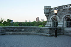 Castello del parco Immagini Stock