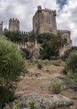 Castello del Rio, di Almodovar è un coraggio dell'origine musulmana, Fotografia Stock Libera da Diritti