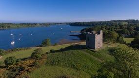 Castello del ` s di Audley Strangford basso della contea, Irlanda del Nord fotografia stock
