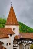 Castello del ` s di Dracula del castello della crusca fotografie stock libere da diritti